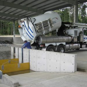 Example of a stormwater decant facility