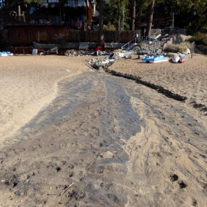 Outfall between Pinewild and Marla Bay GID directly connected to Lake Tahoe