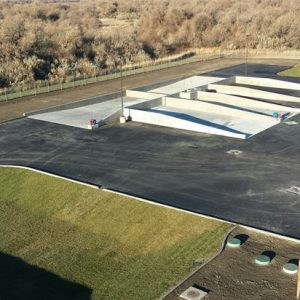 Example of a stormwater/waste decant facility